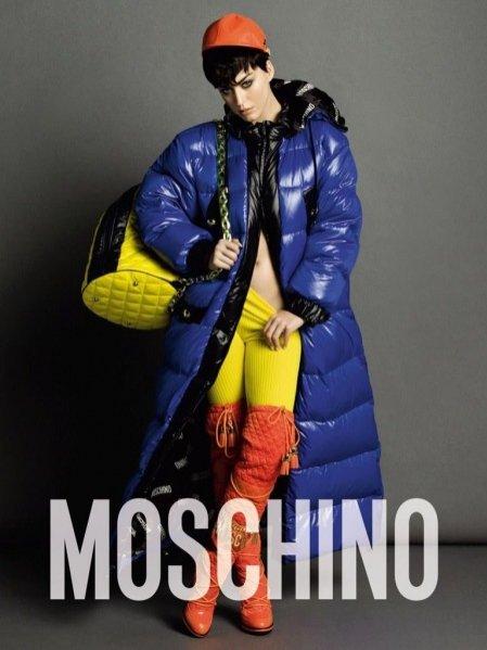 1. Katy Perry w kampanii Moschino jesień zima 2015/2016