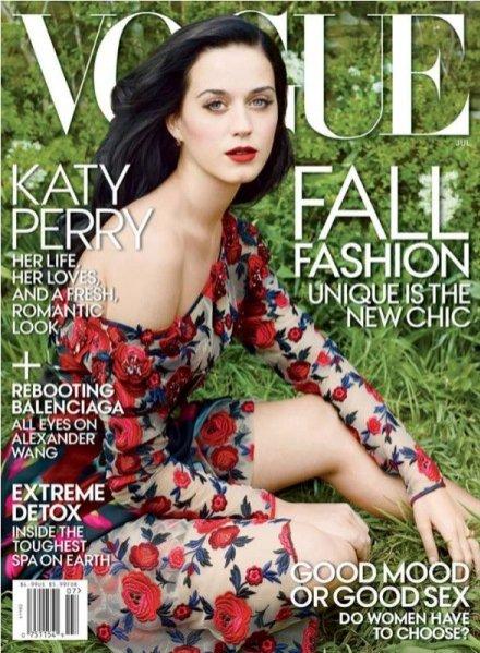 Katy Perryna okładce lipcowego Vogue US