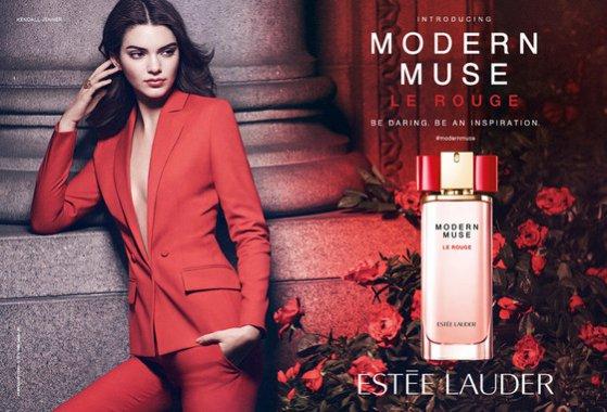 1. Kendall Jenner w kampanii Estée Lauder - pierwsze efekty współpracy