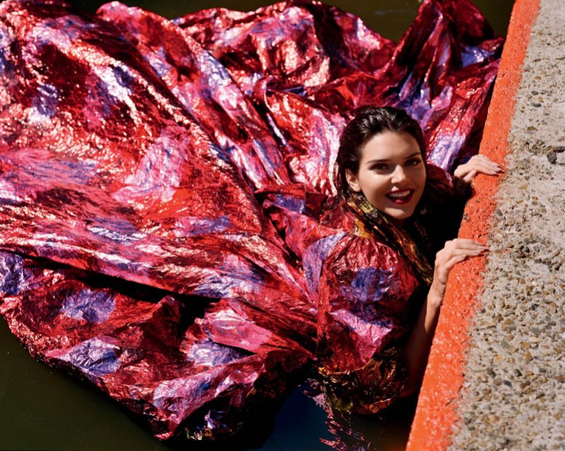 Kendall Jenner dla Love Magazine