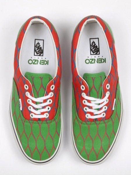 model butów Kenzo&Vans