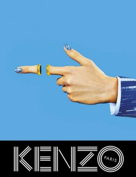 1. Kenzo - kampania wiosna lato 2014