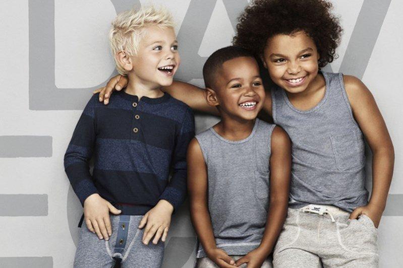 1. Kolekcja David Beckham i H&M dla chłopców
