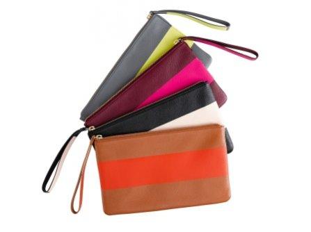 Kolorowe kopertówki GAP