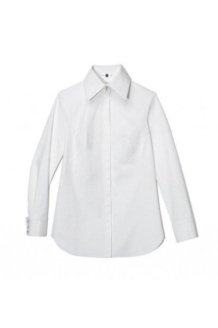 Koszula z wysokim kołnierzem, OUTFIT FORMAT, BoutiqueLaMode.com