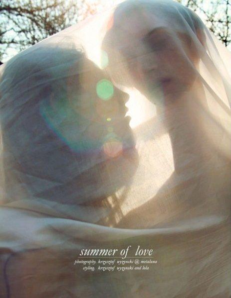 Krzysztof Wyżyński dla Schon Magazine - edytorial Summer of Love