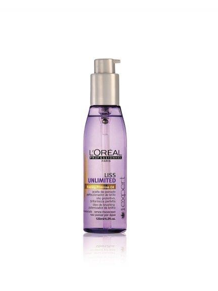 linia kosmetyków intensywnie wygładzających Liss Unlimited od L'Oréal Professionnel - olejek do stylizacji wygładzenie i blask 52PLN/125ml