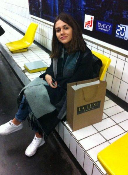 1. Paris Fashion Week z marką La Luxe Paris - czekamy z Kariną na przyjazd metra