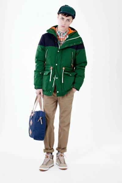 Lookbook męskiej kolekcji Lacoste L!ve jesień zima 2012/13