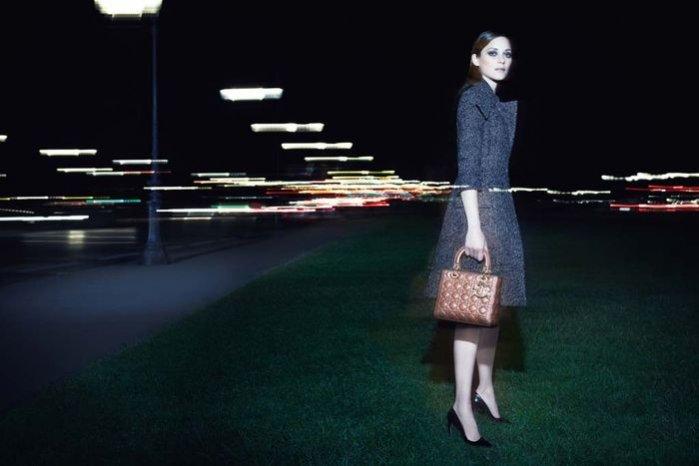 1. Marion Cotillard w nowej kampanii torebek Lady Dior