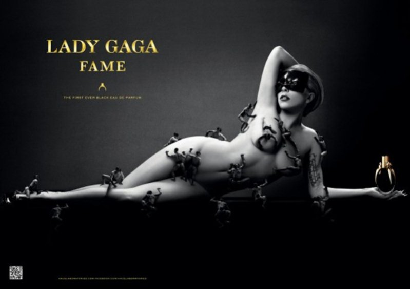"""Lady Gaga w kampanii zapachu """"Fame"""""""