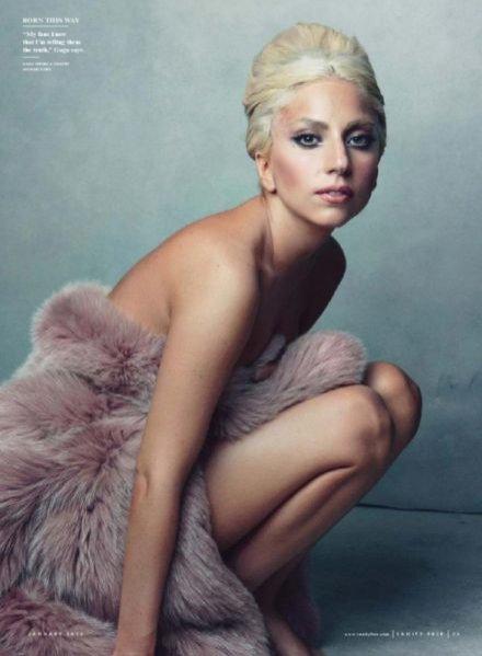 Lady Gaga w sesji dla Vanity Fair