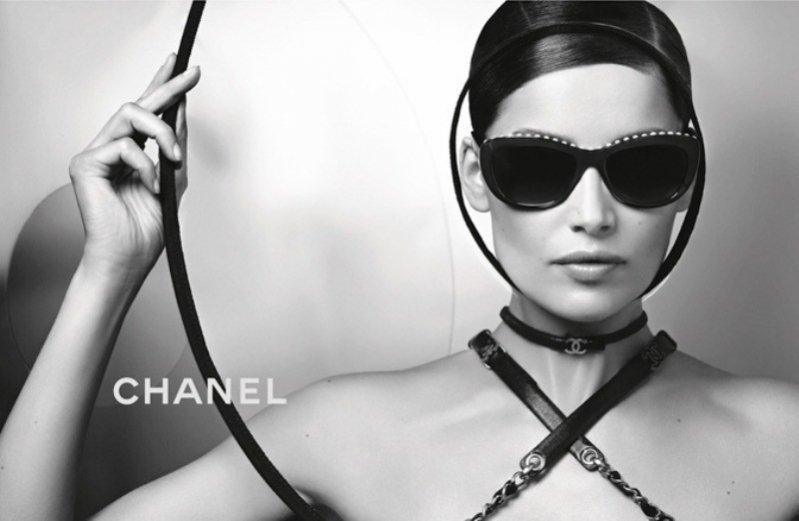 Laetitia Casta w kampanii Chanel Eyewear wiosna lato 2013