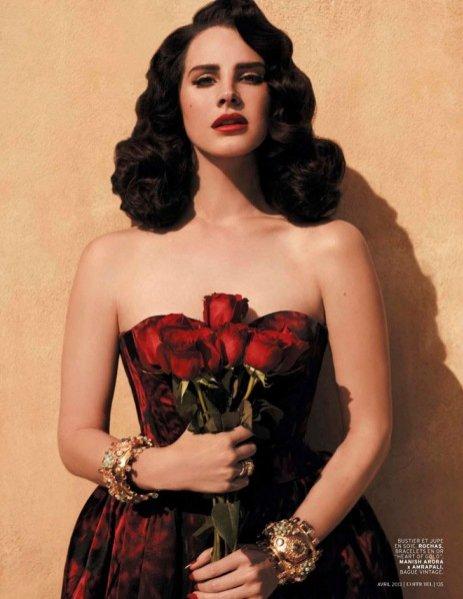 Lana del Rey w sesji dla kwietniowego L'Officiel Paris