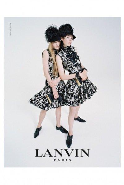 1. Lanvin - kampania jesień zima 2014/2015
