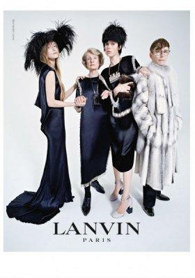 LANVIN – KAMPANIA JESIEŃ ZIMA 2014/2015