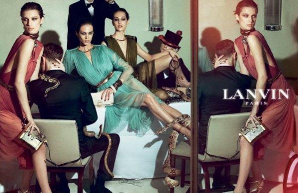 Kampania Lanvin na sezon wiosna lato 2012