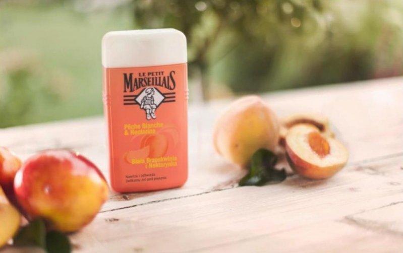 Le Petit Marseillais - Żel pod prysznic biała brzoskwinia i nektarynka - 250ml/8,99pln, 400ml/13,99pln