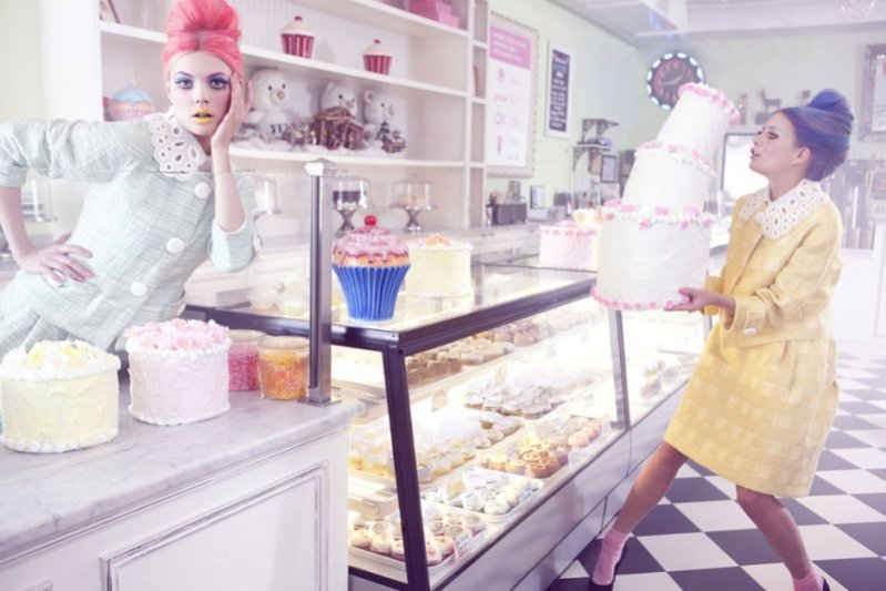Lil bake shop w Marie Claire China