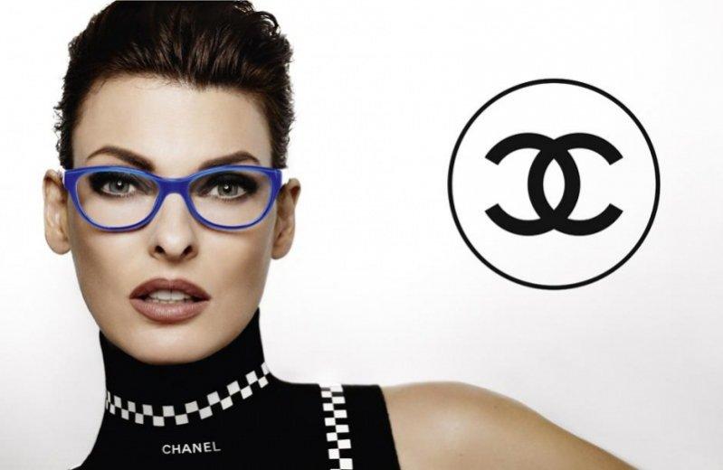 Linda Evangelista w kampanii Chanel Eyewear wiosna lato 2012