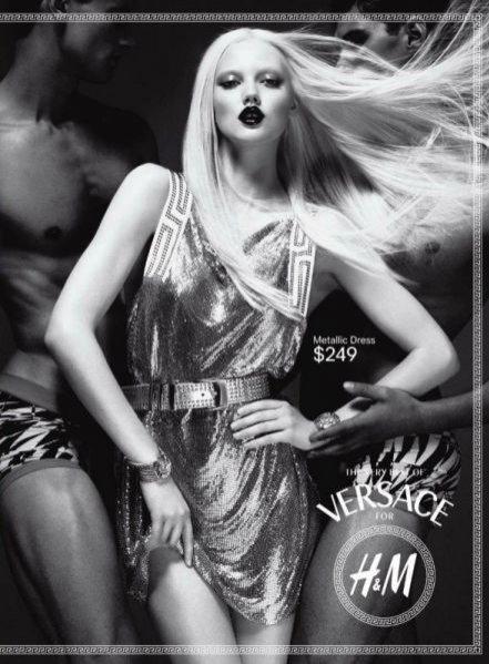 Kampania Versace dla H&M