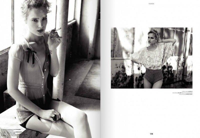 Lolita - polska sesja we francuskim magazynie Prestige
