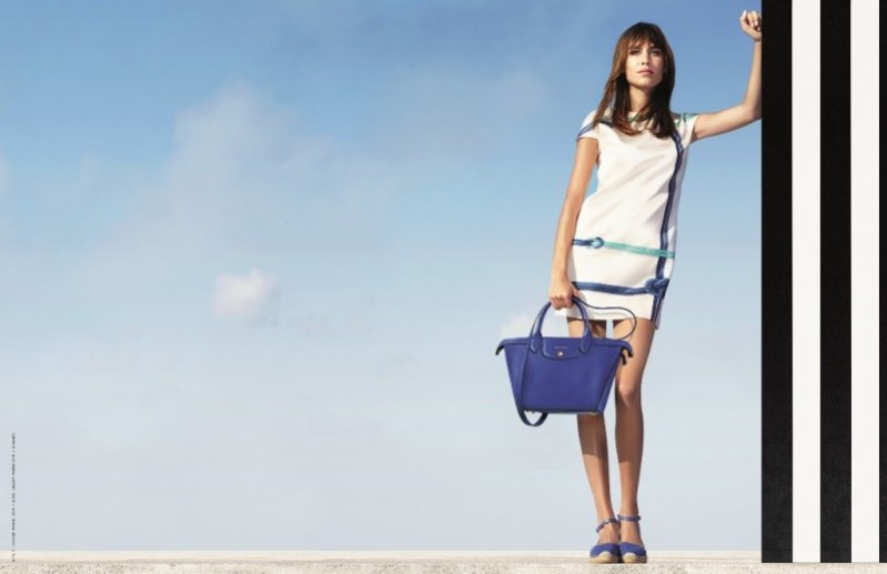 1. Longchamp - kampania wiosna lato 2015