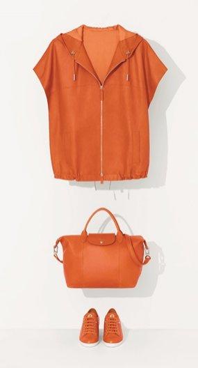 1. Kolekcja Le Pliage Cuir Longchamp wiosna lato 2014