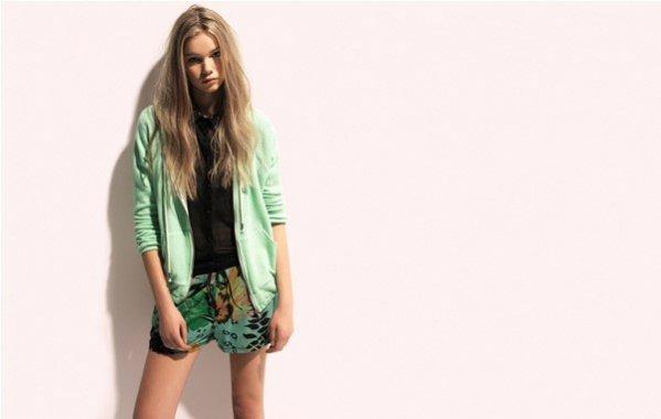 Lazy Summer - kolekcja Pull&Bear na sezon wiosna lato 2012