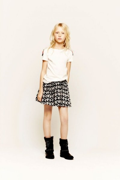 Lookbook ZARA Kids luty 2013