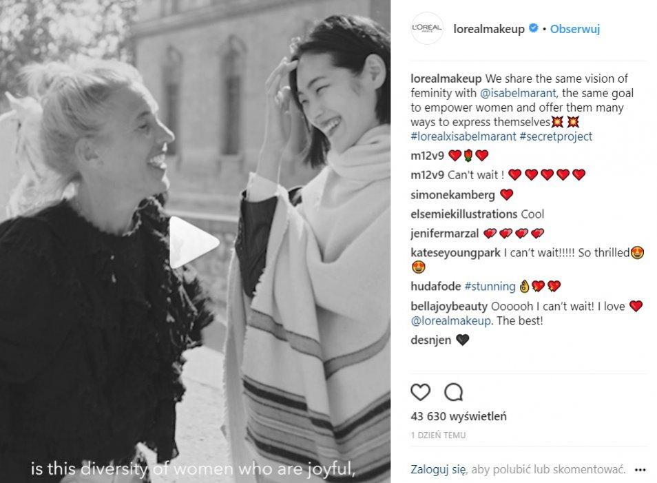 Isabel Marant dla marki L'Oréal Paris