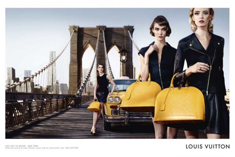 kampania Louis Vuitton Alma Bag 2013