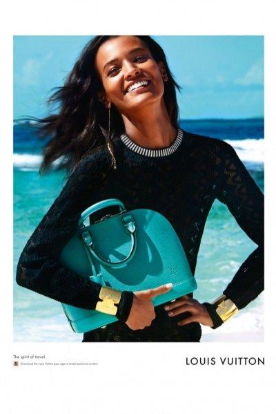 """1. Louis Vuitton - kampania """"Spirit of Travel"""" wiosna lato 2015"""