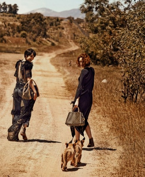 1. Louis Vuitton - kampania wiosna lato 2014
