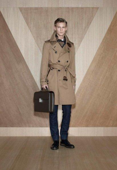 Lookbook męskiej kolekcji Louis Vuitton jesień zima 2012/13