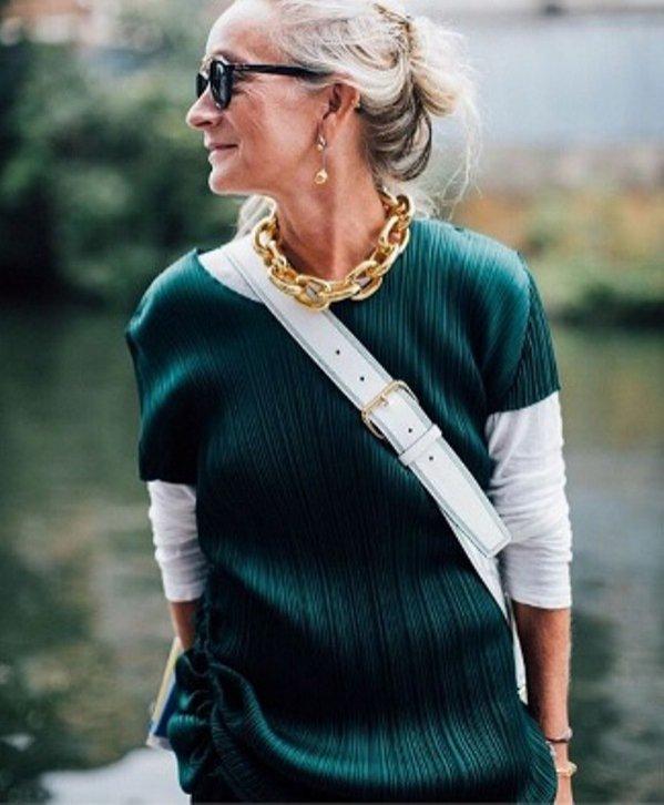 Lucinda Chambers była dyrektorem mody Vogue UK od 25 lat