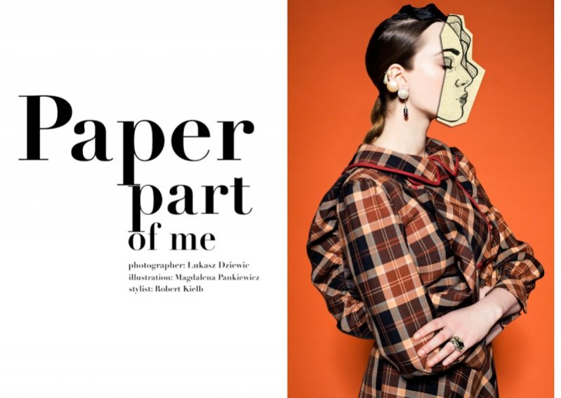 Paper Part of Me - nowy edytorial Łukasza Dziewica dla Hunger TV