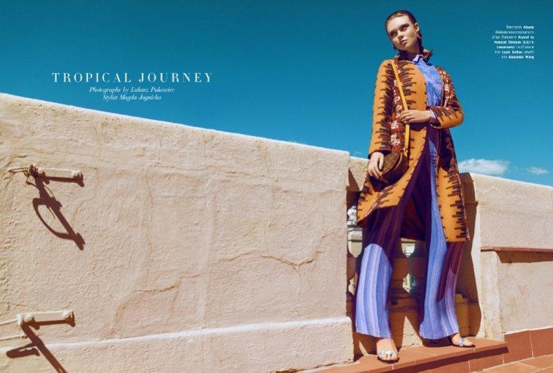 1. Tropical Journey - Harper's Bazaar Thailand, październik 2013