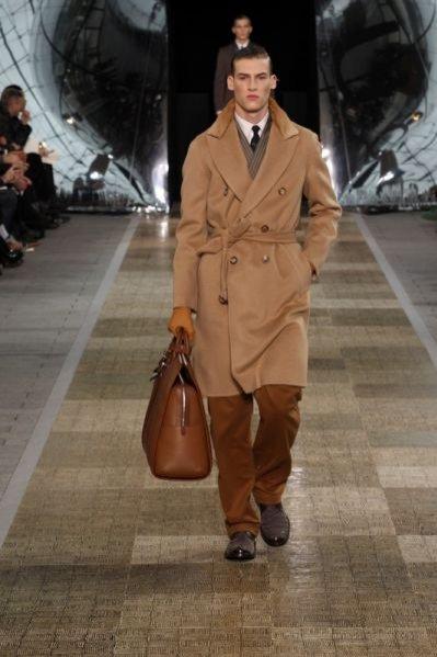 Męska kolekcja Louis Vuitton jesień zima 2012
