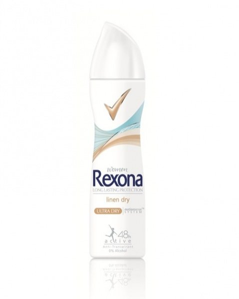 antyperspirant Rexona Linen Dry -  Spray 150 ml- cena ok. 10 PLN