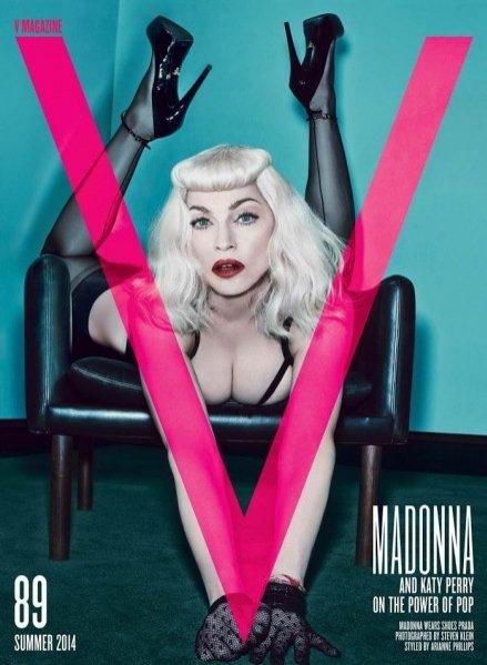 1. Madonna i Katy Perry dla V Magazine
