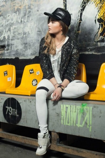 Maffashion w kampanii Bershka Sport Collection