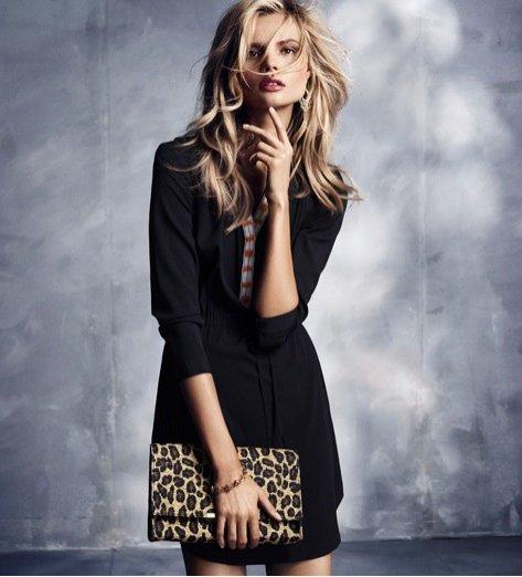 Magdalena Frąckowiak w lookbook H&M Modern Boho