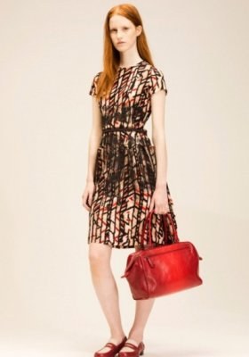 MAGDA JASEK W LOOKBOOKU BOTTEGA VENETA RESORT 2014