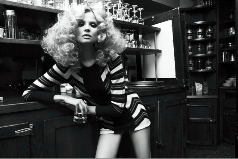 Magdalena Frąckowiak w Vogue Russia Kwiecień 2012