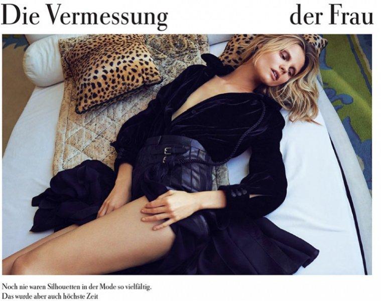 Magdalena Frąckowiak w sesji dla Zeit Magazine