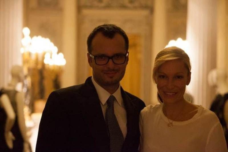 Magdalena Mousson-Lestang i Mateusz Motyczyński z Lilou