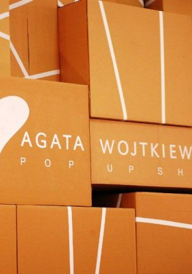 POP-UP SHOP PROJEKTANTKI AGATY WOJTKIEWICZ