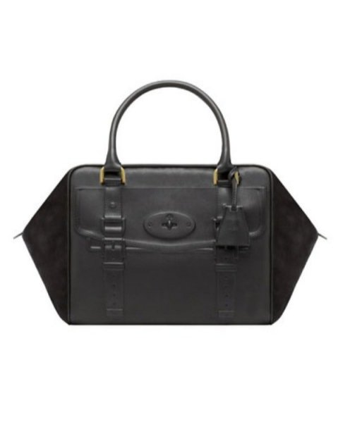 The Mulberry Maisie Clipper bag in black