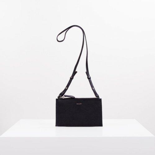 MUMU - czarna torebka na ramię